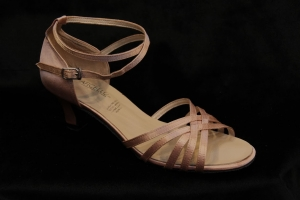 C No. 2212 Peach (2 inches thick heel)